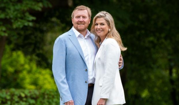 <p>Het Koninklijk paar komt naar Bergen</p>