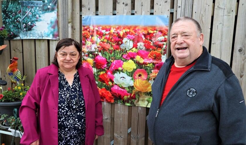 <p>Marian en Piet van Lierop vieren vrijdag het 50-jarig huwelijksfeest.</p>