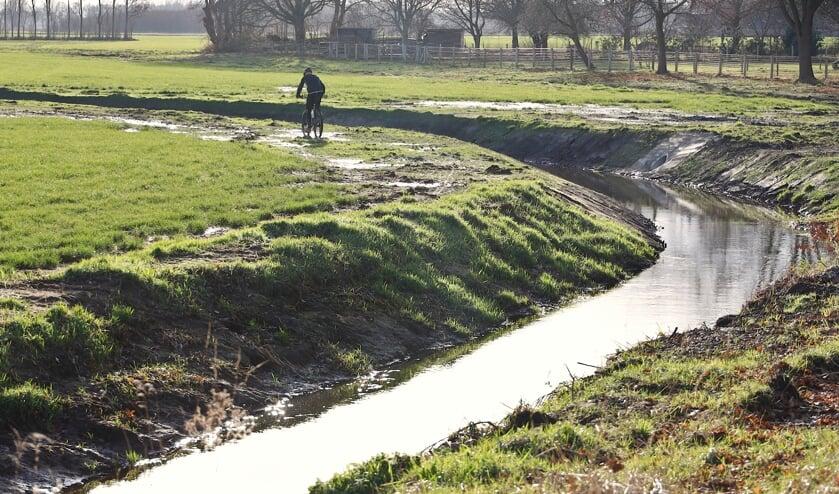 <p>De Loobeek bij Merselo met gronden die sinds vorig jaar juni in het bezit zijn van de familie Loonen.&nbsp;</p>