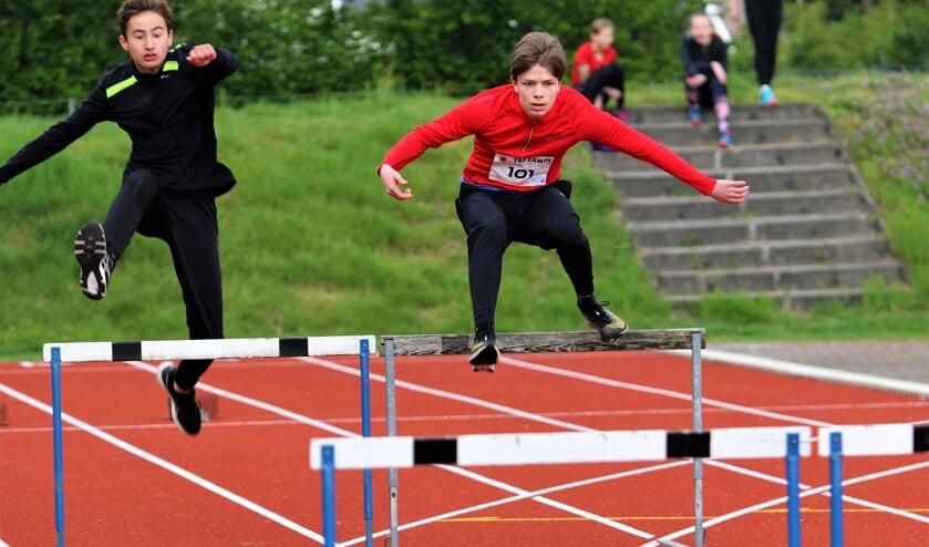 <p>Hordenlopen is een moeilijke discipline voor de jeugd.</p>