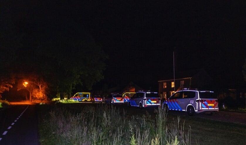 <p>Politiewagens en ambulances rukten uit na de melding van een steekincident.</p>