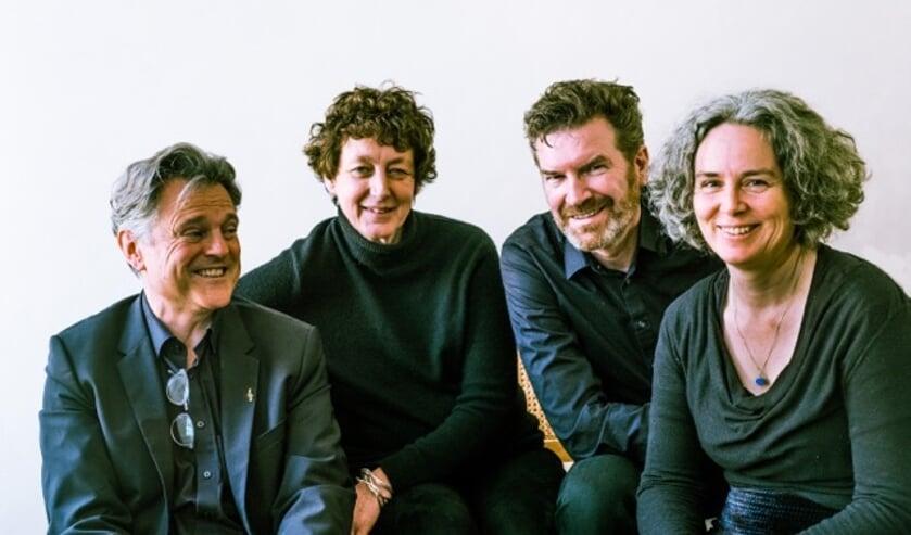 <p>Het Narratio Kwartet treedt zondag 20 juni coronaproof op in het Theehuis van het Odapark.</p>