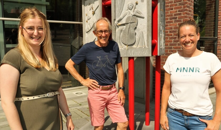 <p>Vanaf links Roos Creemers, Bert Linders en Inge Gielens.</p>