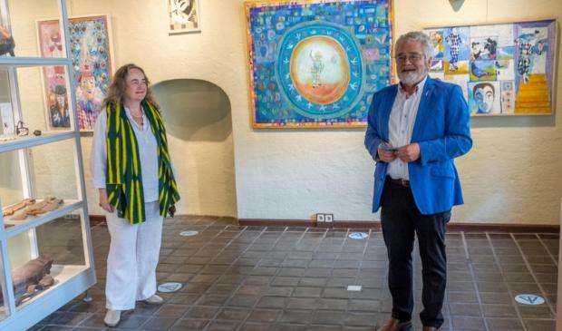 Opening van de expositie in Het Petershuis