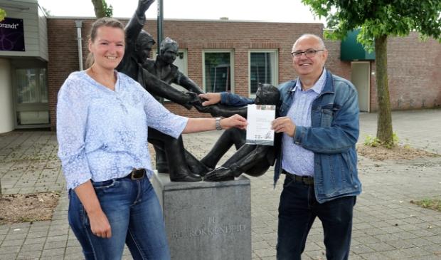 Wilma van Rijen en Pierre Rutten