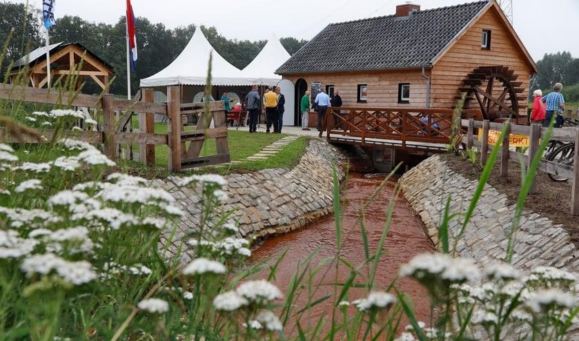 <p>De volmolen in Merselo werd deze zomer officieel geopend.</p>