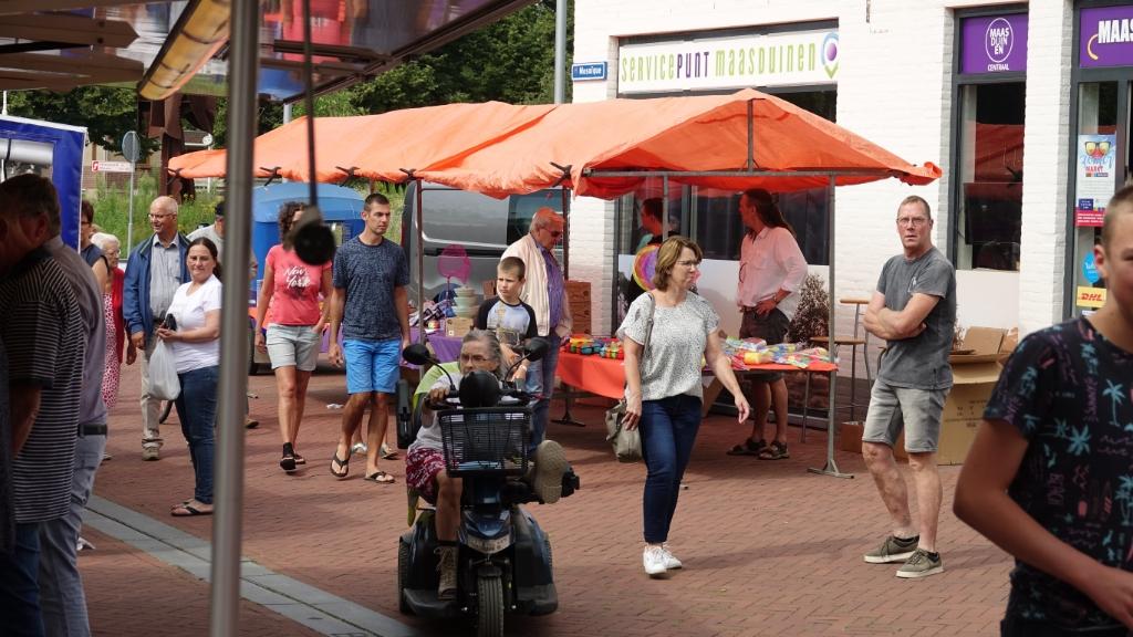 Zomermarkt Mosaïque 2021/1 Foto: Chris Smits © Maasduinencentraal