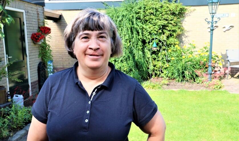 <p>Karin Knoops is al jarenlang een van de fanatieke vrijwilligers van de fietsvierdaagse.</p>