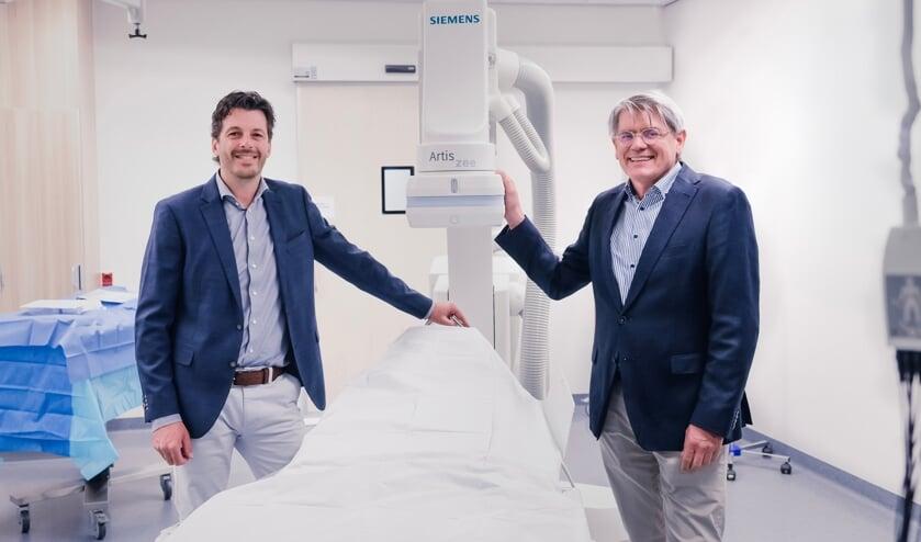 <p>De cardiologen Wouter Remkes en Joan Meeder.</p>
