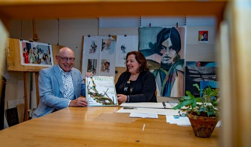 <p>Harry Schraven en Angelique Jansen gaan voor een dementievriendelijk Venray.</p>