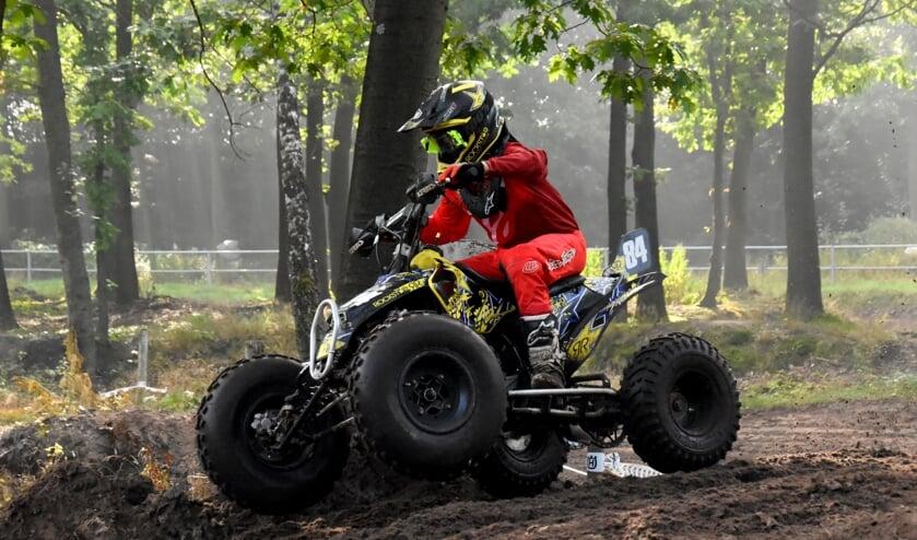 <p>Thijs Frederix pakte de dagzege bij de quads specials.</p>