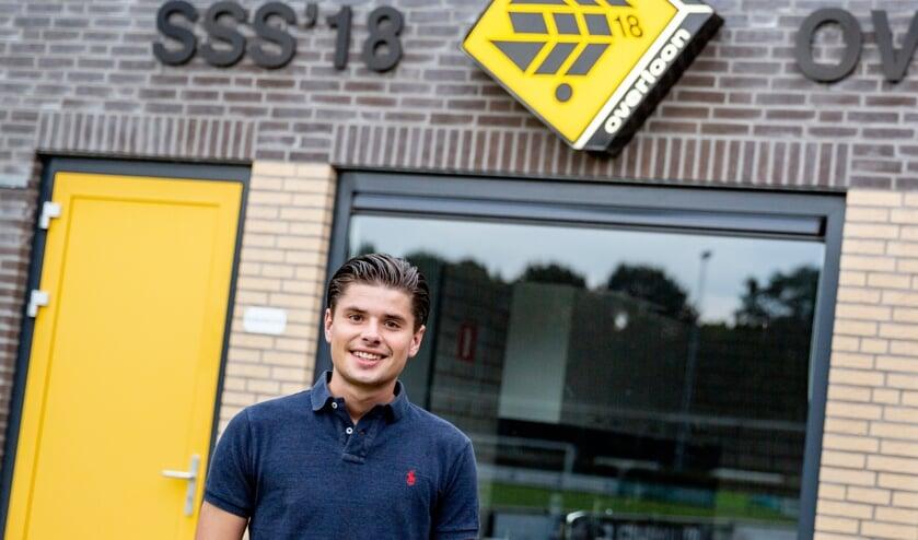 <p>Hendrik Verstraaten hoopt met SSS&#39;18 op handhaving in de eerste klasse.&nbsp;</p>