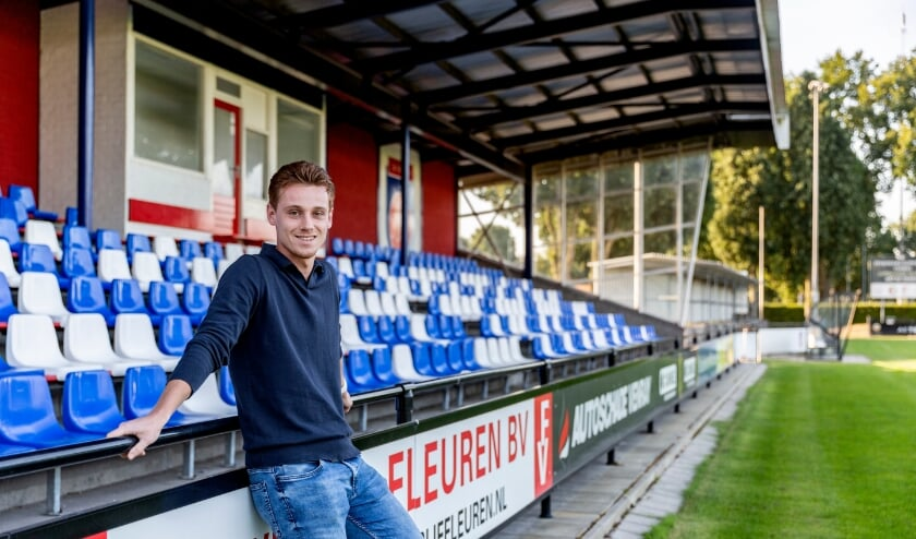 <p>Roel Cornelissen voelt zich thuis op sportpark De Wie&euml;n in Venray.</p>