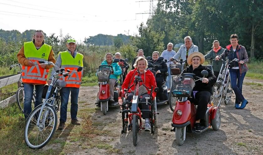 <p>Het enthousiasme was woensdagmiddag groot bij de deelnemers en begeleiders van de mobiliteitstocht door Venray.</p>
