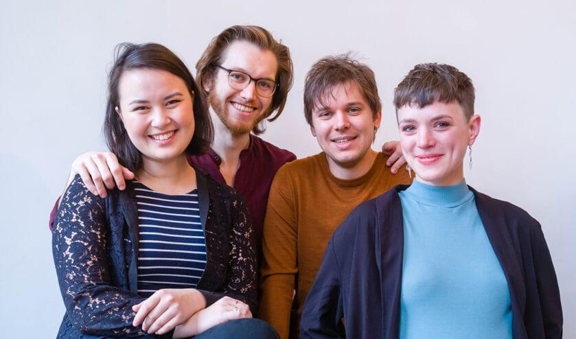 <p>Ensemble Postscript treedt komende zondag op in het Theehuis van het Odapark. &nbsp;</p>