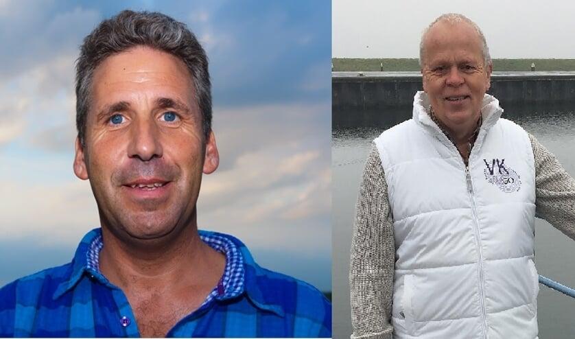 Binic Vreugde (links) en Johan de Vos willen geen details geven over de vertrouwensbreuk.