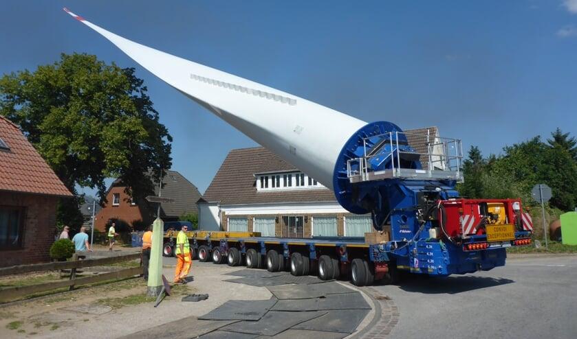 De Bladelifter in actie op een andere plaats (Foto: Transpalux).