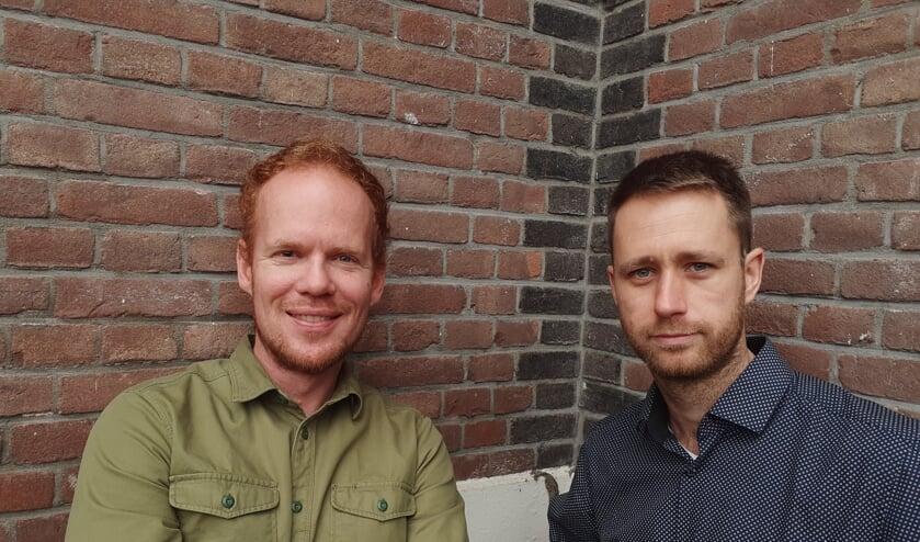 Jos van der Welle (links) en Erwin Breen. Foto: Hennie Kuijer