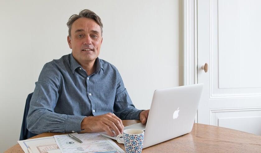 Gijs Jan Visser is nalatenschapscoach, daarvan zijn er een kleine honderd in heel Nederland. Foto: Desiree van Halewijn