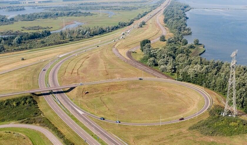 NL.Zeeland.Luchtfotoserie RWS rijkswegen, bruggen, sluizen, kanalen ZeelandFoto: Joop van Houdt