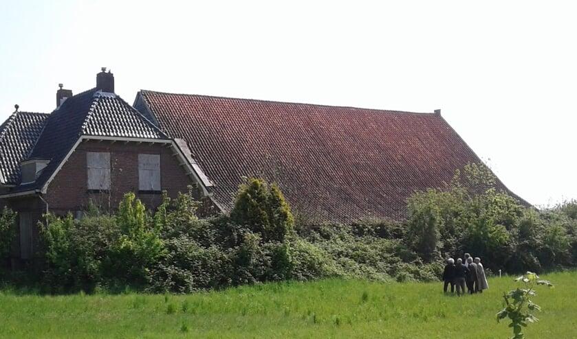 Er is uitgebreid onderzoek gedaan naar de bouwkundige kwaliteit van de historische schuur van Welgelegen in Ouddorp. Foto: Stichting tot Bescherming van het Dorpsgezicht.