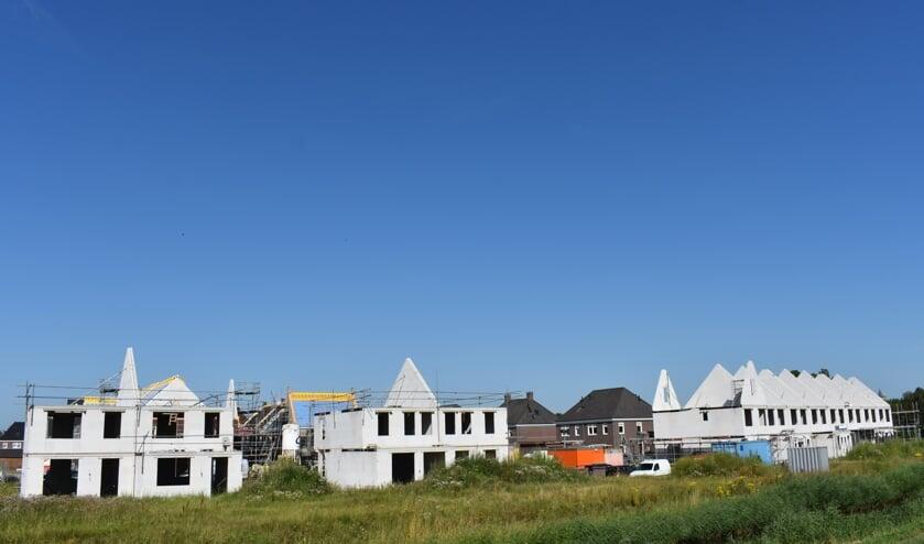 Nieuwbouw aan de rand van Dirksland.