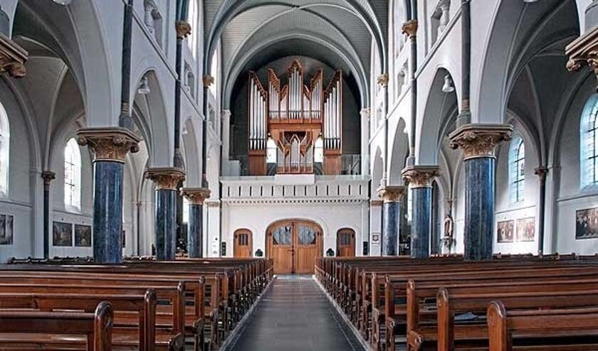 Een foto van het orgel uit 2014.