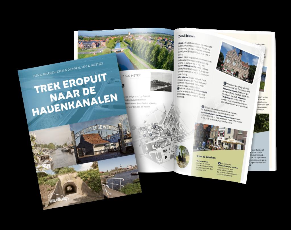 De nieuwe brochure.  ©