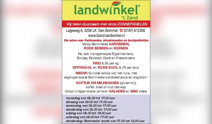 Landwinkel 't Zand