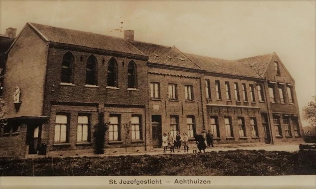 Het toenmalige St. Jozefgesticht.  ©