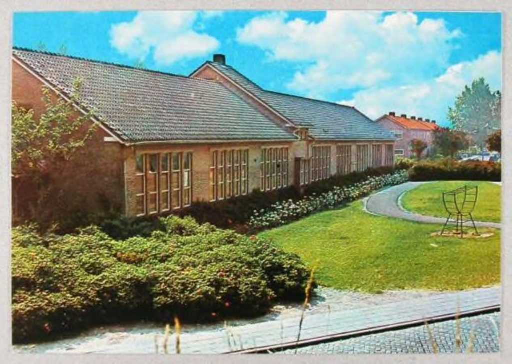 Sint Jozefschool in 1970.  ©