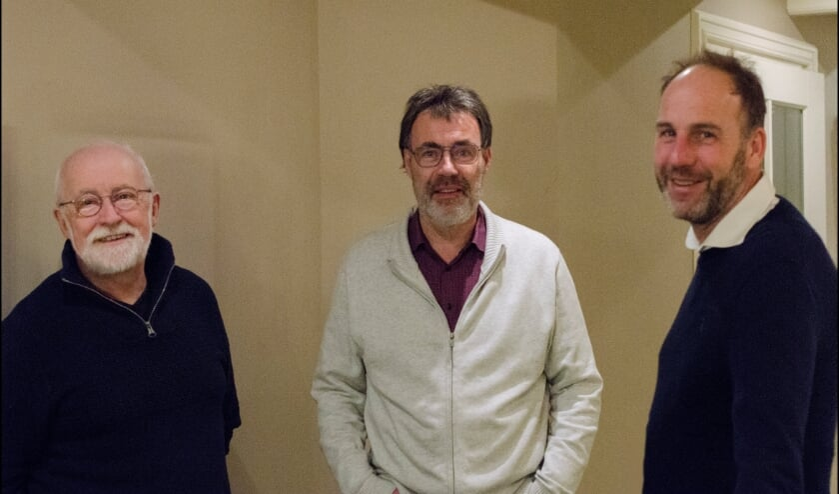 <p>V.l.n.r. Ruud Kuijer, Jacob Rink en Jacob Jan Dogterom (Foto: Erwin Guijt).</p>