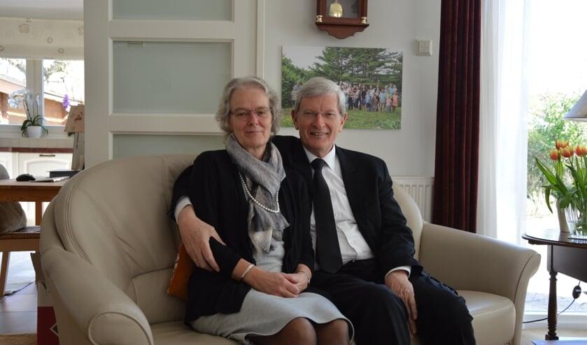 <p>Dominee en mevrouw Procee (Foto: Erwin Guijt).</p>