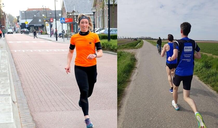 Veel enthousiaste deelnemers liepen de Omloop; snelle tijden voor Sint Nicolaas en Wolfert.