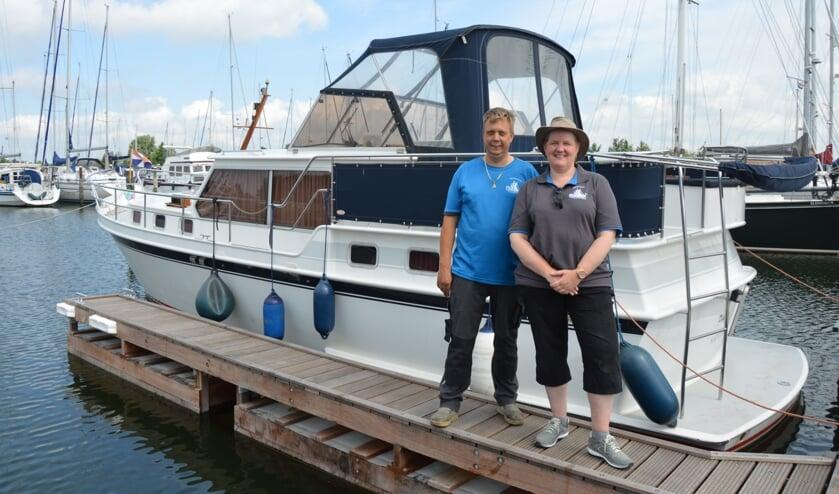 Alexander en Angelique Bakker van Jachthaven Atlantica (Foto: Erwin Guijt).