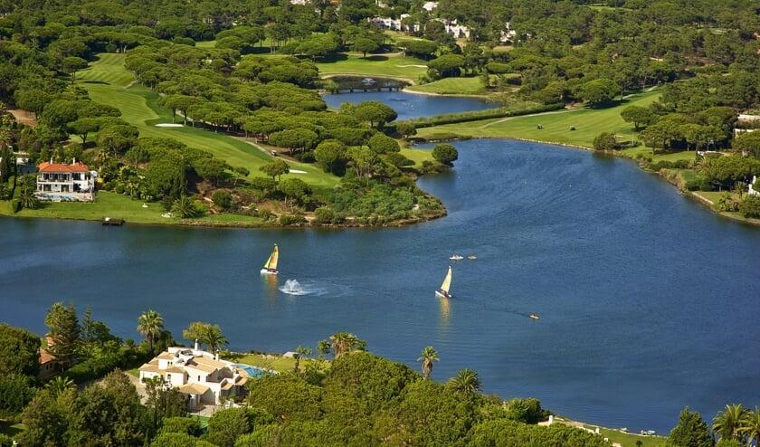 Prachtig overzicht van Quinta do Lago, dat met de North en de South Course twee geweldige banen heeft.