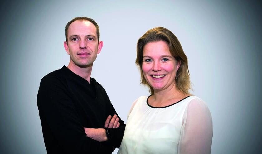 """""""Schroom niet om contact op te nemen. Dan kunnen we kijken of we je kunnen helpen"""", aldus het voorzittersduo Marije Sliphorst en Daniël Pardoen."""