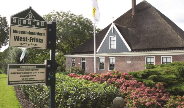 De Museumboerderij West-Frisia is weer te bezoeken.