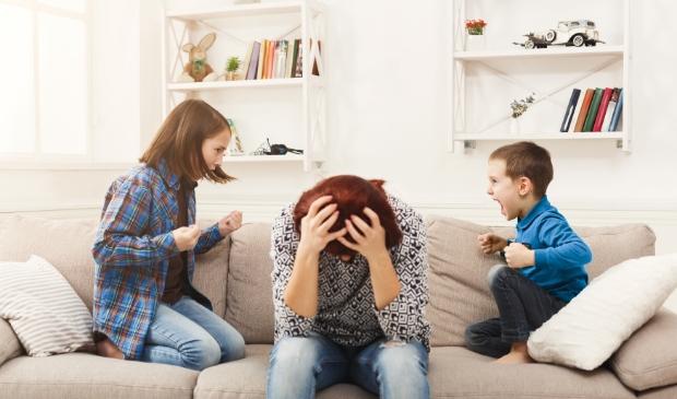 Van de gezinnen met schoolgaande kinderen ervaren ouders met kinderen op de basisschool de meeste stress.