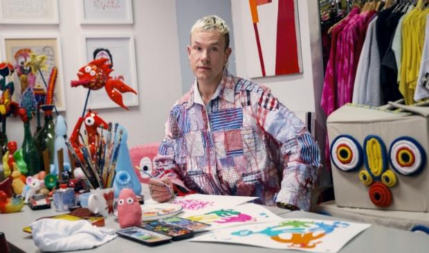 Modekunstenaar Bas Kosters.