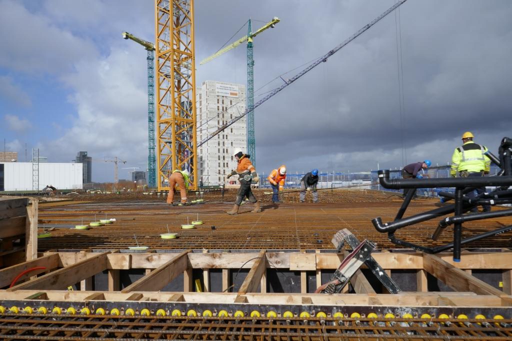 Met de coronacrisis kreeg de bouwsector na stikstofmaterie een tweede rechtse directe.  (Foto: aangeleverd) © rodi