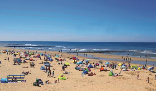 Den Helder schoonste strand provincie NH.
