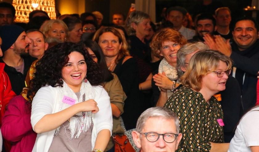 Met Fiolet taalschool organiseerde Op Roet de Avonden van Ontmoetingen.