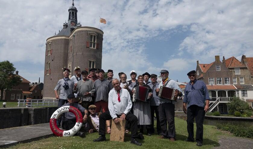De Enkhuizer Sjappetouwtjes verzorgen dit jaar een intermezzo tijdens het achtste lustrum van de Zangersdag.