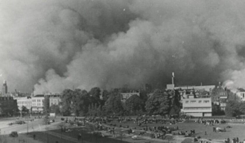 Het bombardement op Rotterdam was op 14 mei 1940.