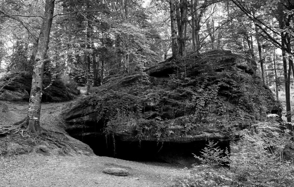 De Col de la Chapelotte ligt in de Vogezen. Tijdens de Eerste Wereldoorlog werd de Grotte des Poilus door de Fransen als hulppost gebruikt om de gewonden te verzorgen. (Foto: cor oorthuijsen) © rodi