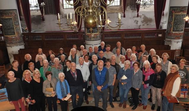 Het Projectkooor bestaat uit koorleden uit heel West-Friesland.
