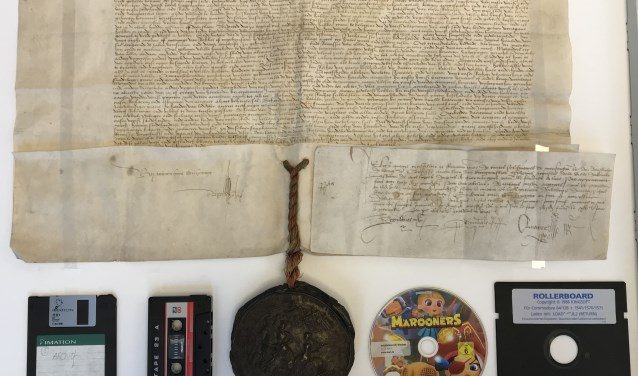 Van middeleeuws perkament tot de digitale wereld.
