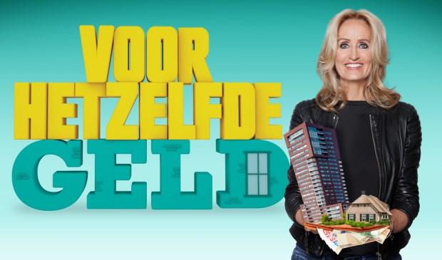 Natasja Froger is de presentator van 'Voor Hetzelfde Geld'.