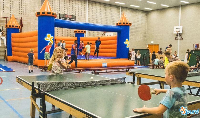 Er is tijdens de herfstvakantie weer van alles te beleven in de sportzalen.